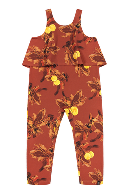 Kaiko Oasis Jumpsuit, Amber Orange