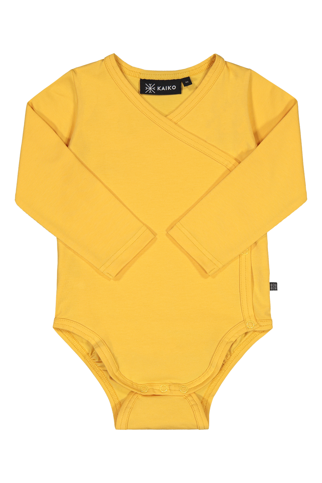Kaiko Wrap Body Longsleeve, Citrus