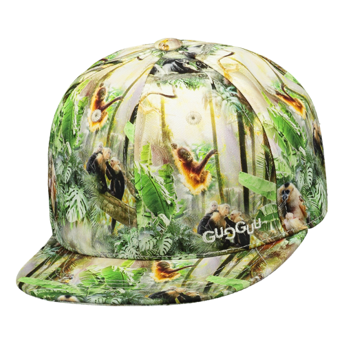 Gugguu Print Cap Monkey Jungle
