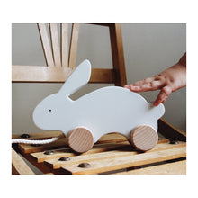 Liewood Abby Pull Along Toy Rabbit