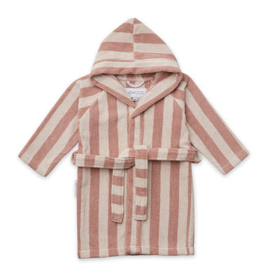 Liewood Reggie Bathrobe Stripe Rose/Sandy