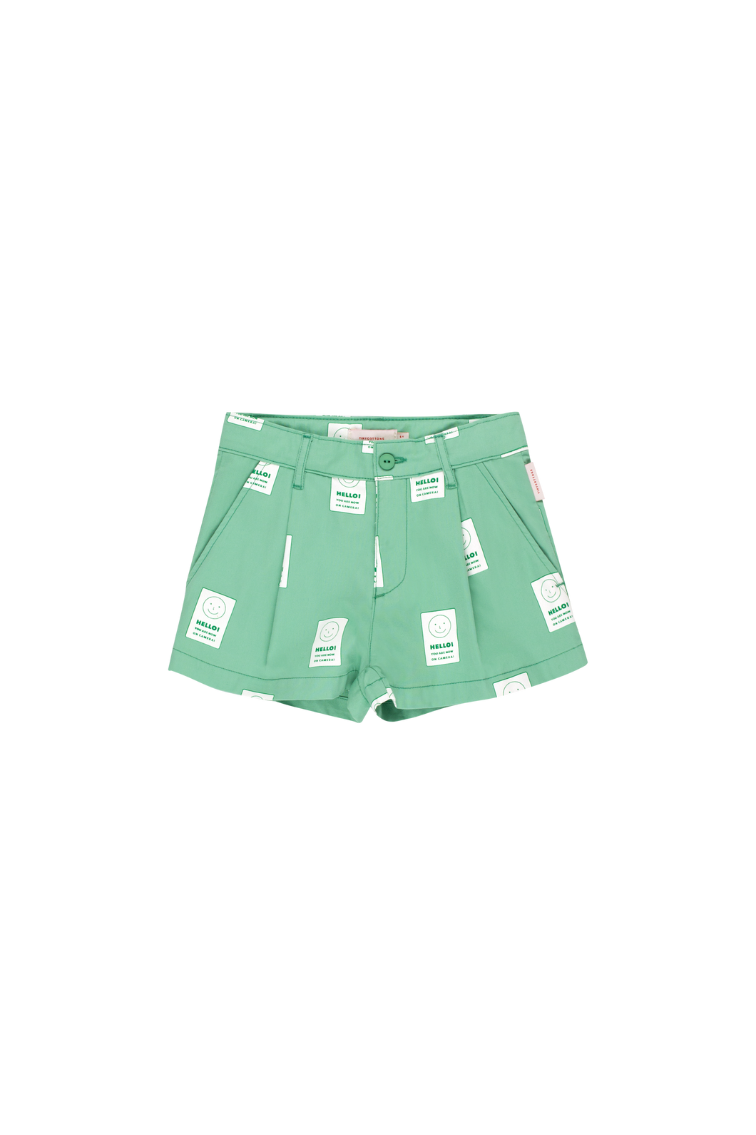 tinycottons HELLO Pleat Short