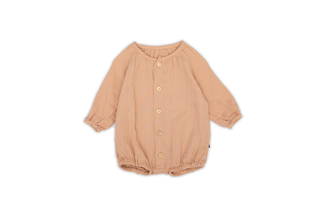 Monkind Apricot Puff Overall