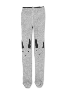 Liewood Stockings Rabbit Grey Melange