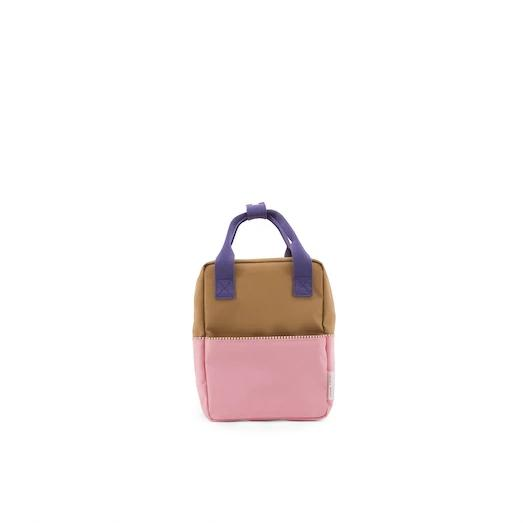 Sticky Lemon Small Backpack Colour Block Panache gold