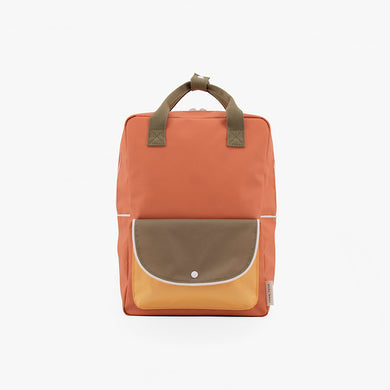 Sticky Lemon Large Backpack Wanderer Faded orange+seventies green
