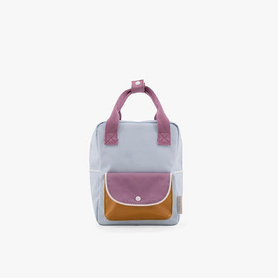 Sticky Lemon Small Backpack Wanderer Sky blue+pirate purple
