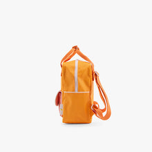Sticky Lemon Small Backpack Wanderer Sunny yellow+apricot orange