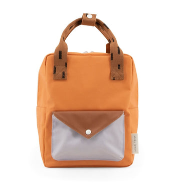 Sticky Lemon Small Backpack Sprinkles Envelope Apricote orange+cinnamon brown