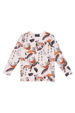 AARRE Longsleeve shirt, Tiger's nap dusty