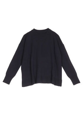 AARRE Sabrina Knitted Merino Sweater Navy
