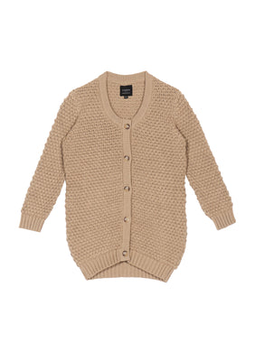AARRE Noel Knitted cardigan Natural