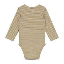 Gray Label Longsleeve Onesie Peanut/Cream