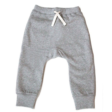 Gray Label Baggy Pants Seamless Grey Melange