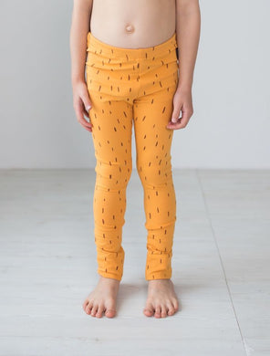 Blaa College Leggings, Pile Yellow