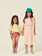 Maed for mini Peach Pigeon Dress