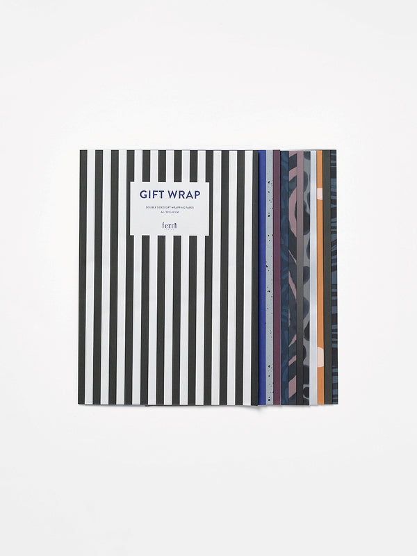 Ferm Living Gift Wrapping Book Multi