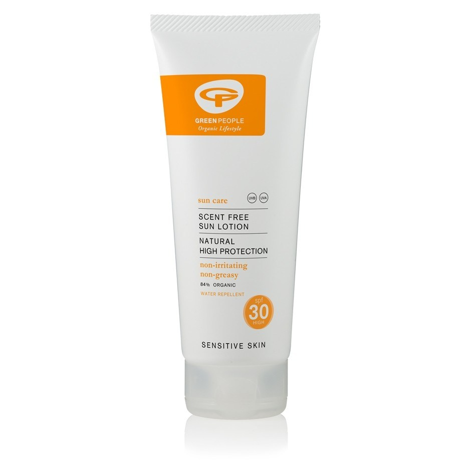 Green People Hajusteeton aurinkovoide SPF30 200ml