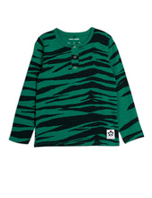 Mini Rodini Basic Tiger Tencel Grandpa Green