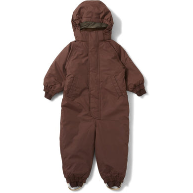 Konges Sloejd Nohr Snowsuit Choco Bean
