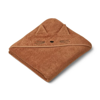 Liewood Augusta Towel Cat Terracotta