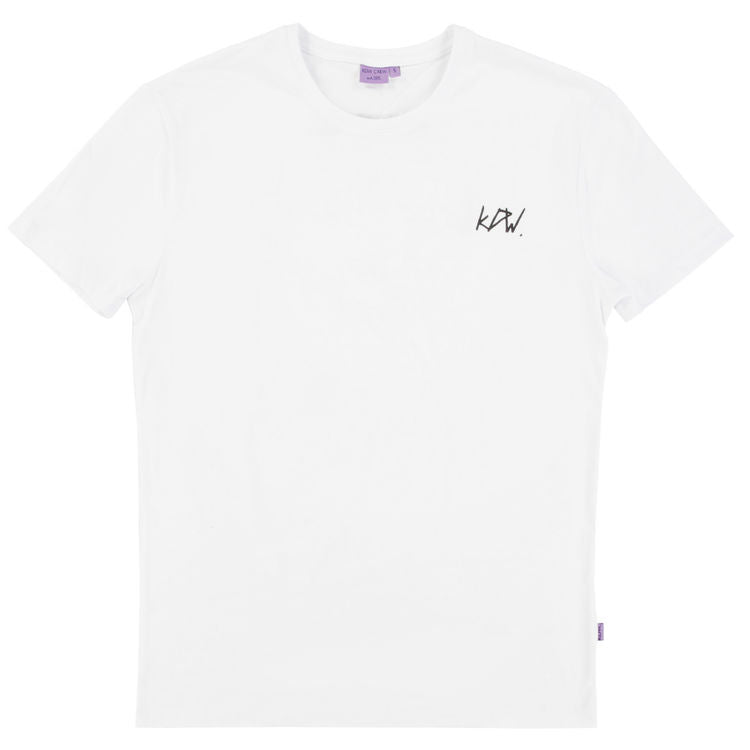 Kiddow KDW Crew Adults T-shirt, White