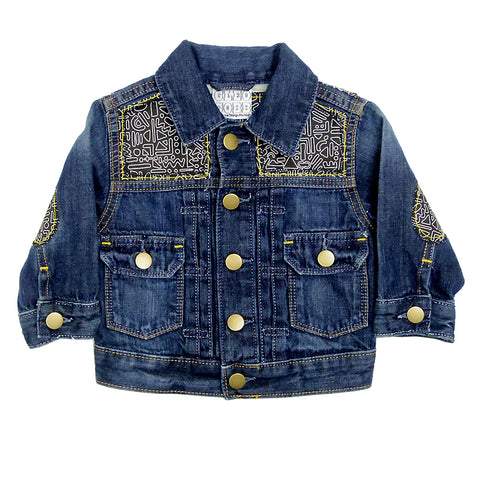 Kids Customised Denim Jackets House Of Kid