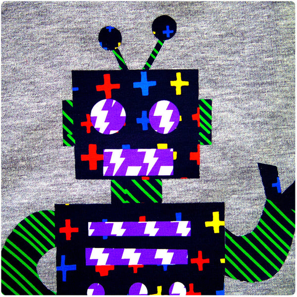 Childrens' Robot Beep Bop T-Shirt Unisex Design