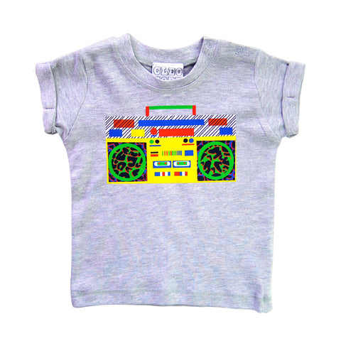 Baby/Toddler Ghetto Blaster/Boom Box T-Shirt Unisex Design
