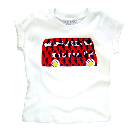 Baby/Toddler London Bus Double Decker Rock The Bus T-Shirt Unisex Design