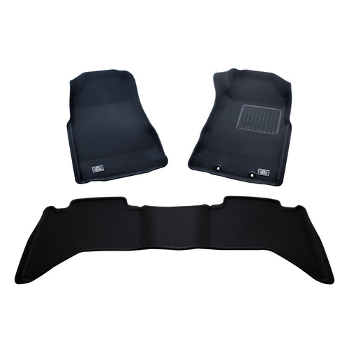 Arctic Trucks Car Mats (Black) - (Auto only)
