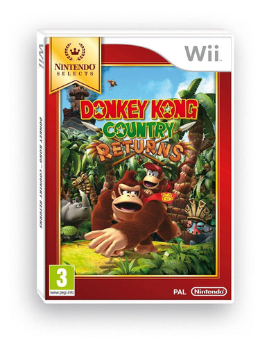 Donkey Kong Country Returns Nintendo WII Selects