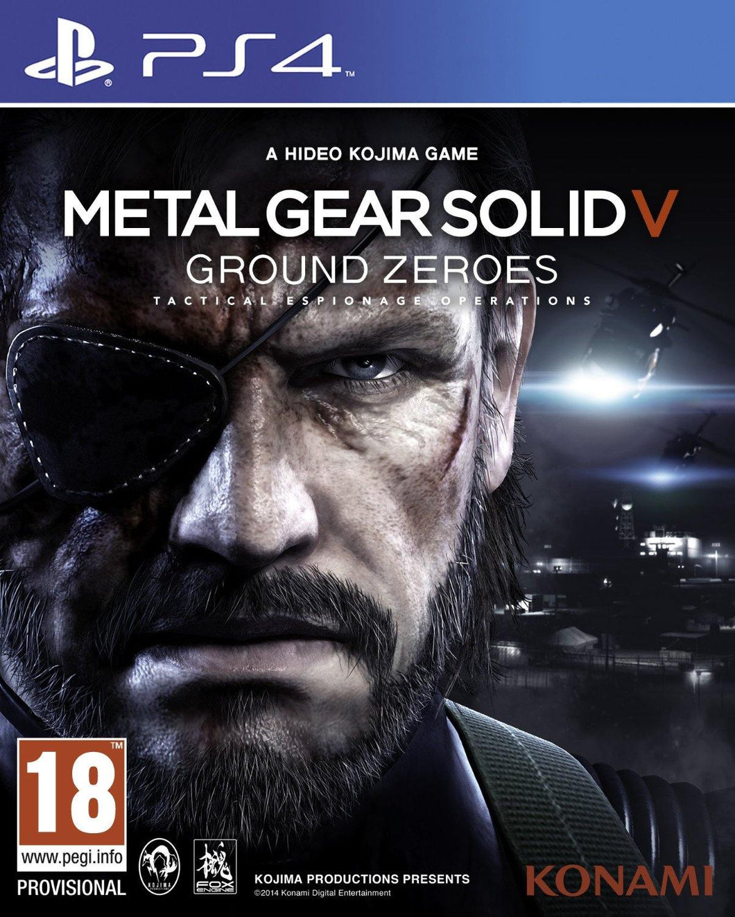Metal Gear Solid V: Ground Zeroes PS4 Playstation 4