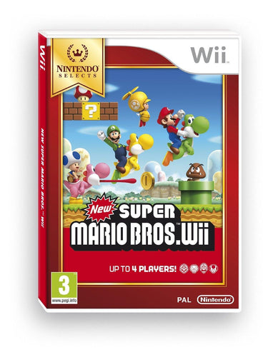 New Super Mario Bros Selects Nintendo Wii