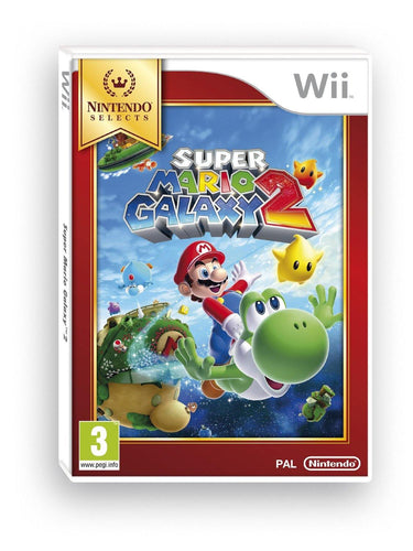 Super Mario Galaxy 2 Selects Nintendo Wii