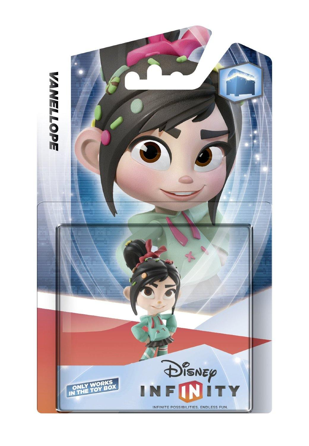 Disney Infinity Vanellope Interactive Game Piece