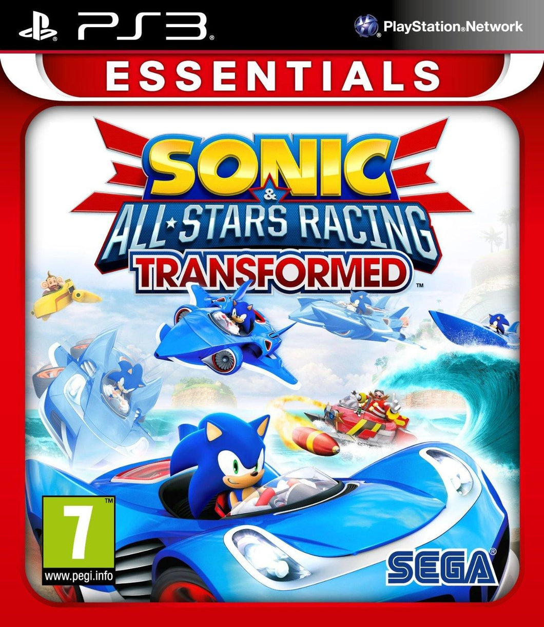 Sonic and All Stars Racing Transformed Essentials PS3