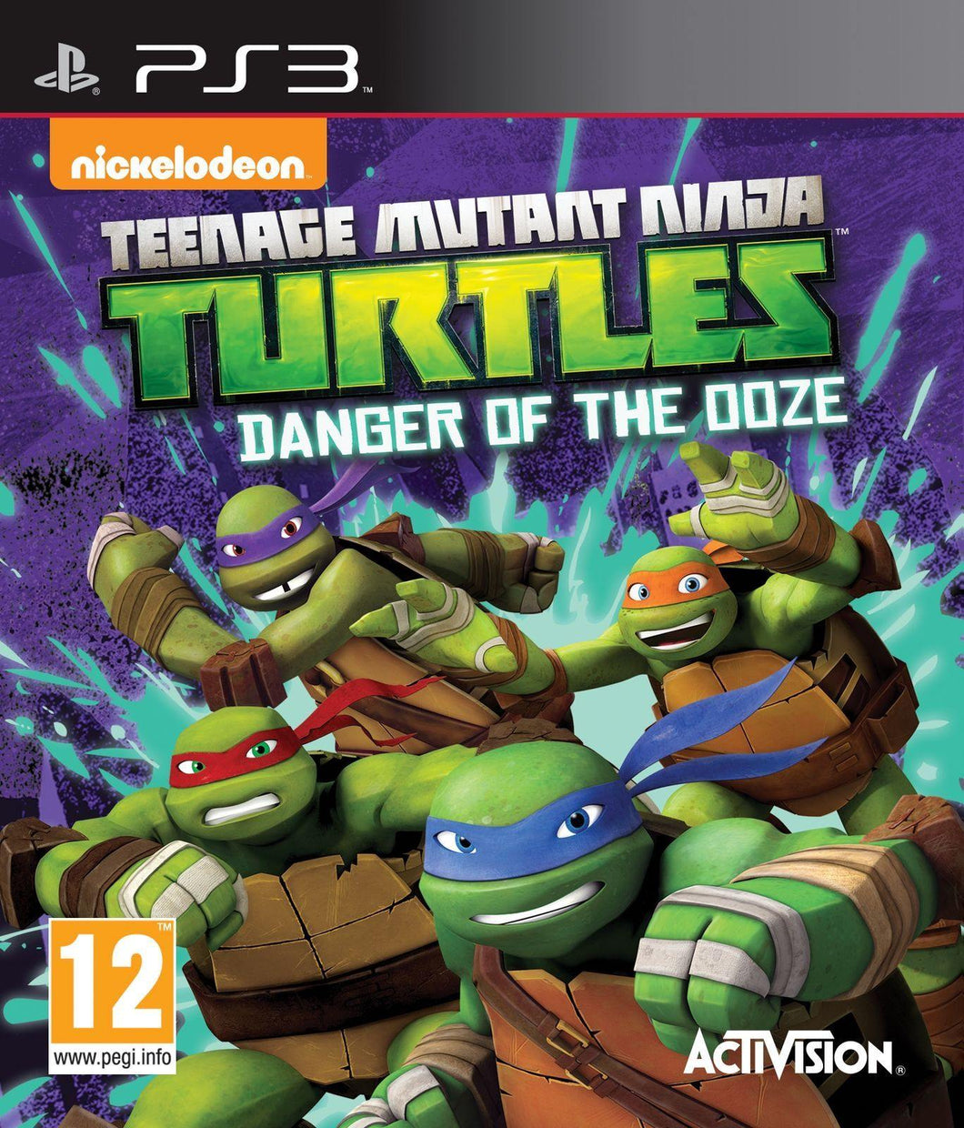 Teenage Mutant Ninja Turtles: Danger Of The Ooze PS3