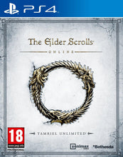 The Elder Scrolls Online Tamriel Unlimited PS4