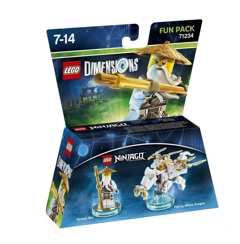 LEGO Dimensions: Sensei Wu White Ninja Fun Pack