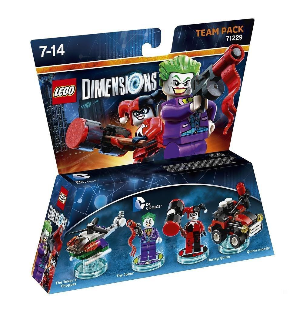 LEGO Dimensions DC Comics Joker & Harley Team Pack