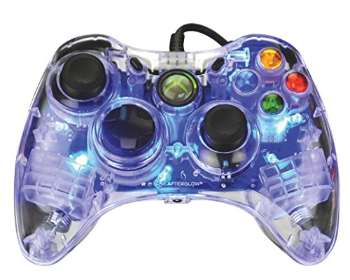 PDP Afterglow Wired Controller SmartTrack Technology Blue Xbox 360