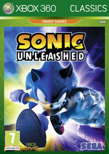 Sonic Unleashed Classics Edition Xbox 360
