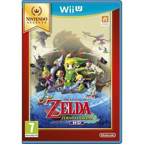 The Legend of Zelda Wind Waker HD Selects Wii U
