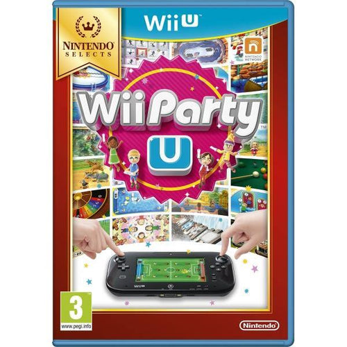 Wii Party U Solus Game Wii U Selects