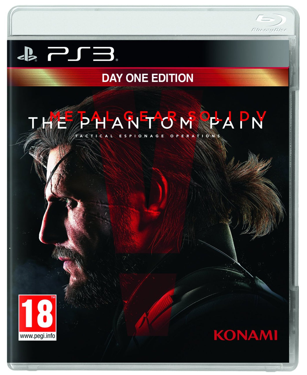 Metal Gear Solid V The Phantom Pain  Day 1 Edition PS3
