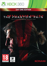 Metal Gear Solid V  The Phantom Pain Day 1 Edition Xbox 360