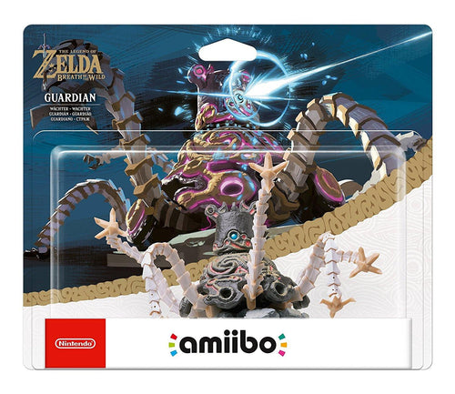 The Legend Of Zelda Guardian Amiibo Breath of the Wild Collection