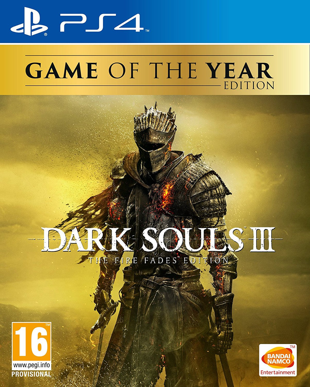 Dark Souls III The Fire Fades Edition GOTY Edition PS4