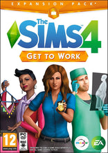 The Sims 4 Get To Work PC DVD